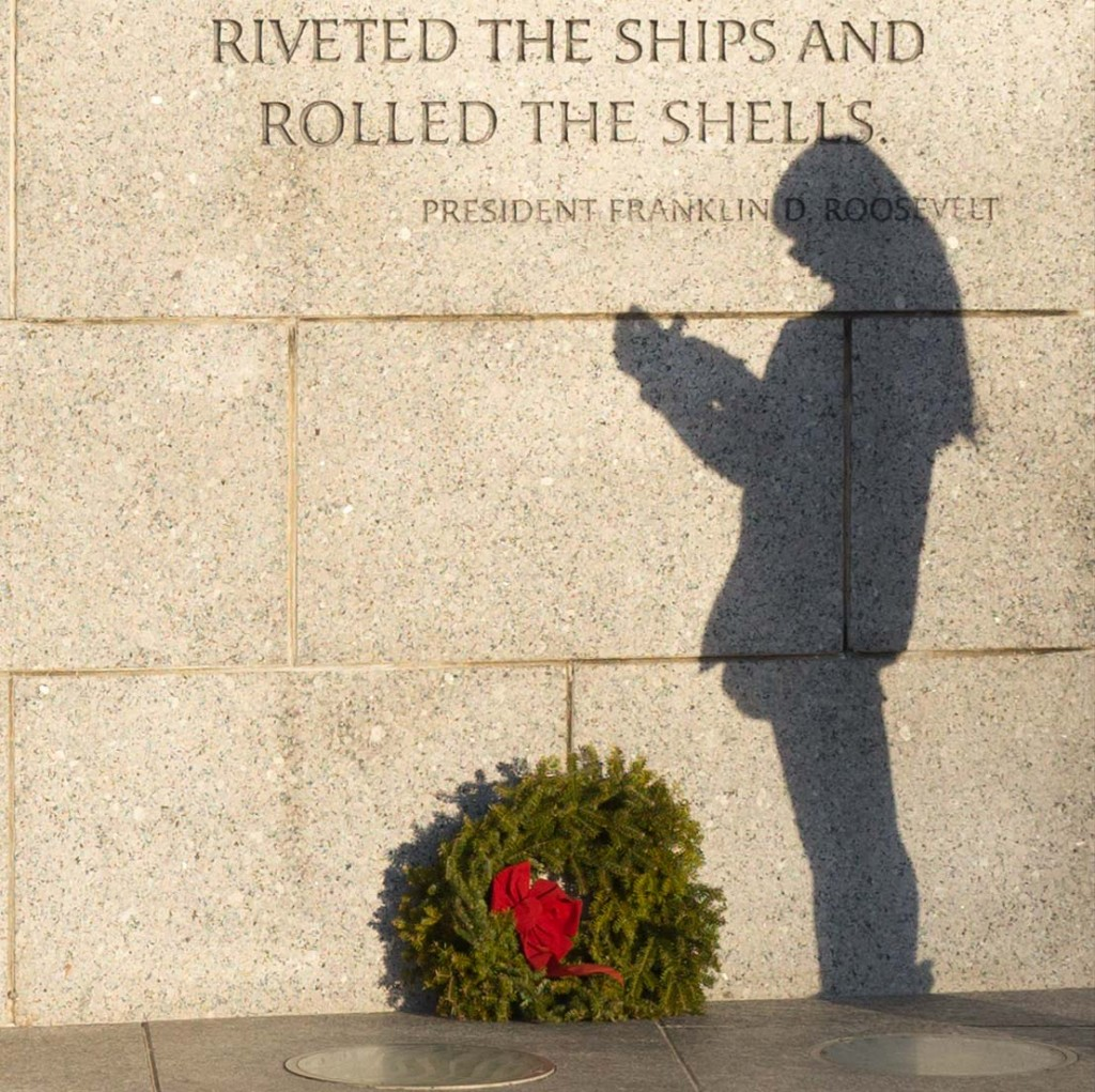 New Year's Day at the Memorial
