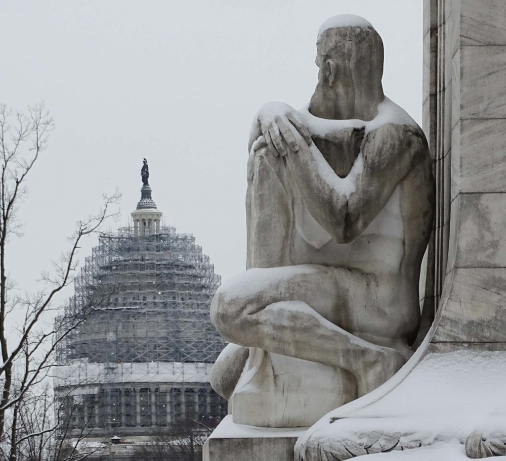 Guarding the Capitol