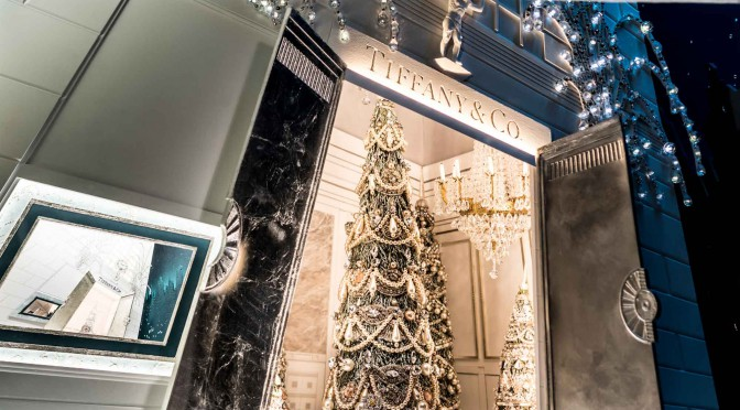 Tiffany holiday windows