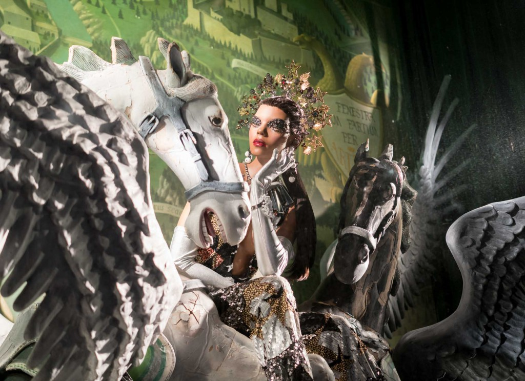 Bergdorf's holiday windows