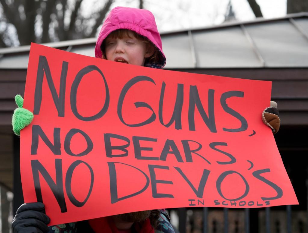 Protest of Betsy DeVos