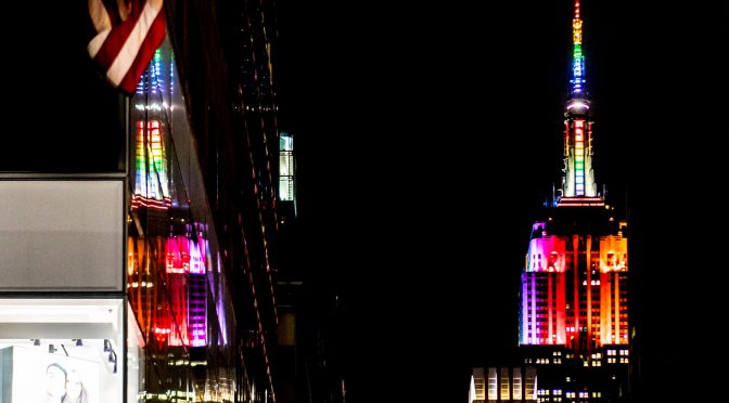 Pride lights